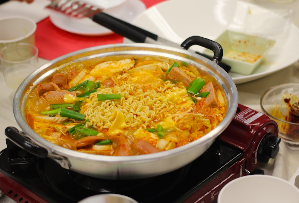 galleria supermarket lunar hotpot korean army stew