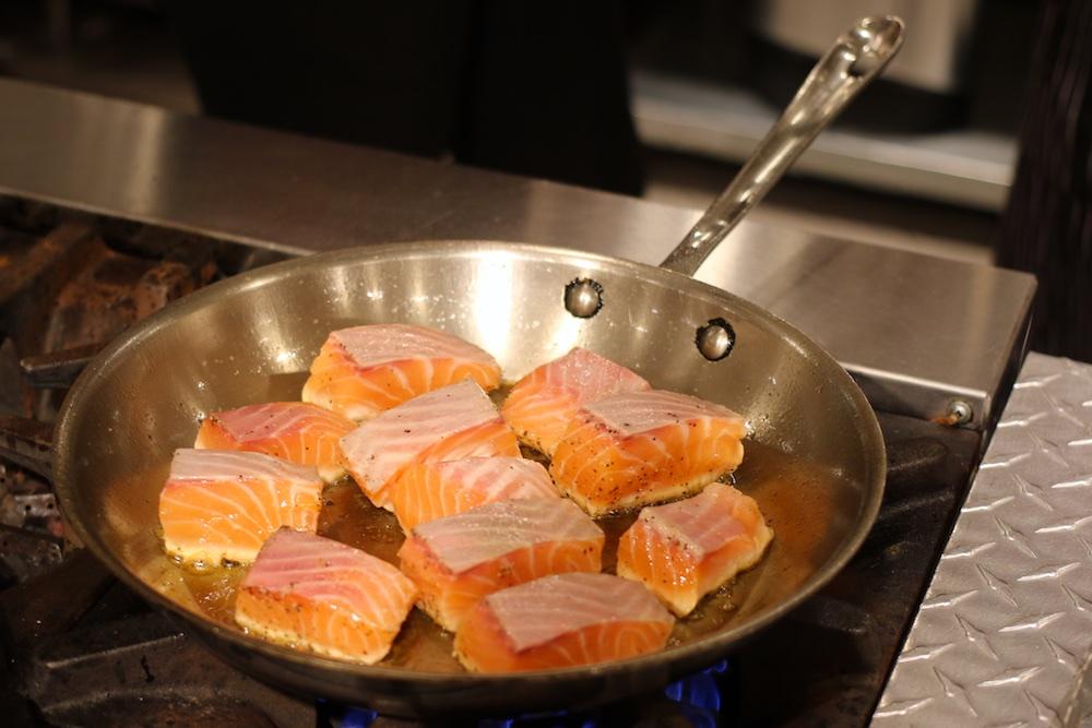 29février maple pan seared salmon