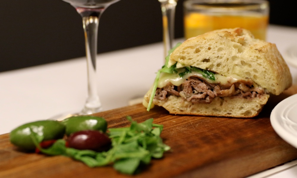 il fornello roast beef sandwich with olives