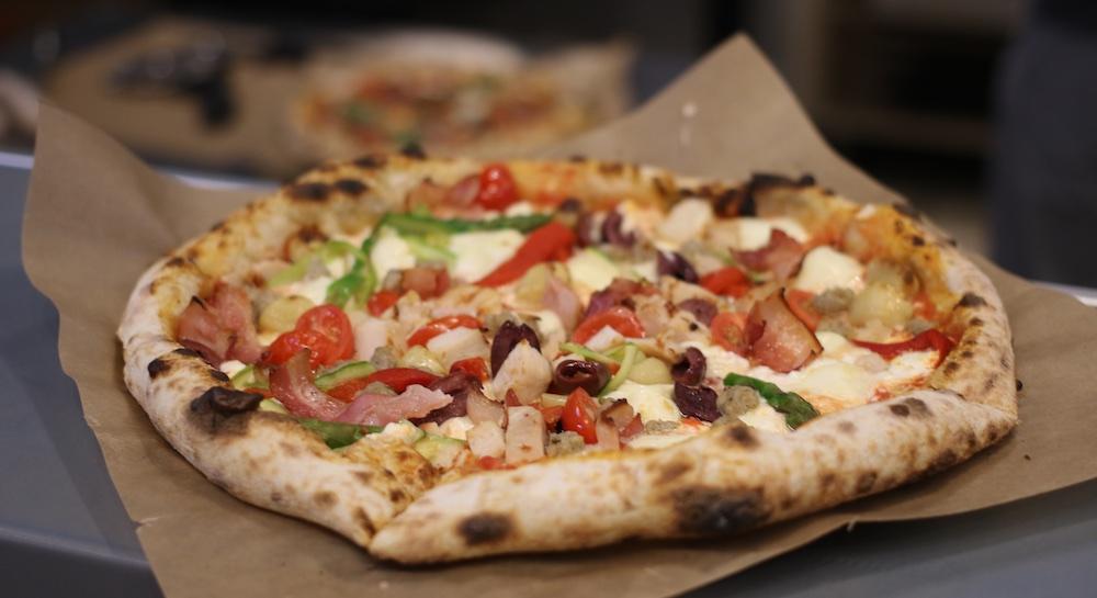 pi co brick oven pizza bacon chicken