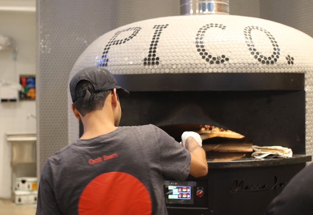 pi co pizza wood fired brick oven