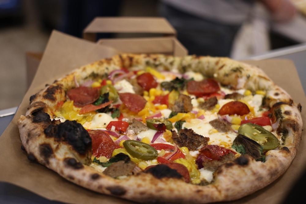 pi co pizza jalapenos salami