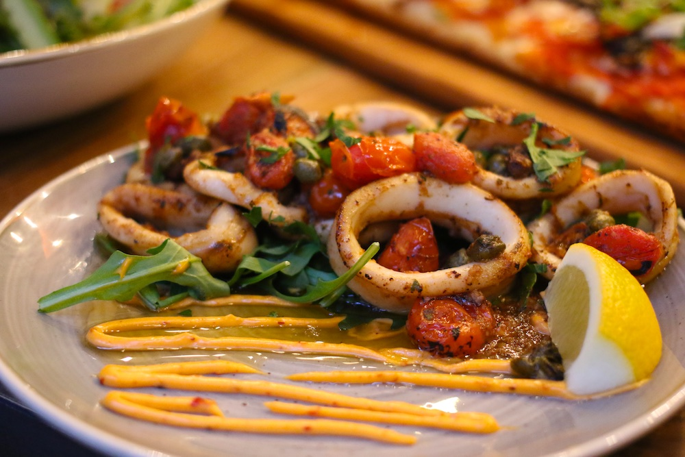 tostos_quickfire pizza pasta calamari appetizer